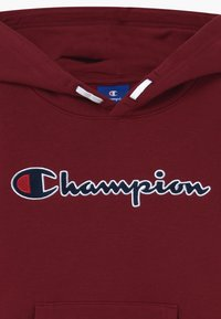 Champion - ROCHESTER LOGO HOODED  - Mikina s kapucí - bordeaux - 3