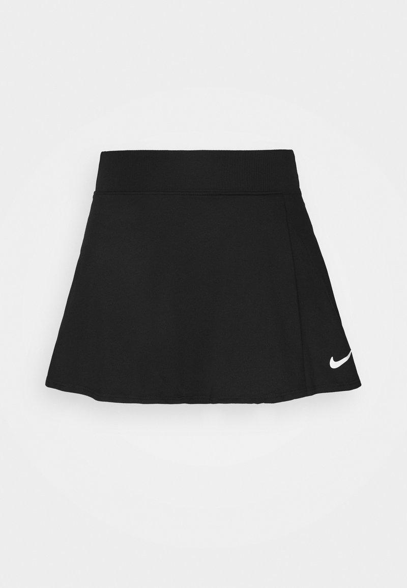 Nike Performance - FLOUNCY SKIRT - Gonna sportivo - black/white