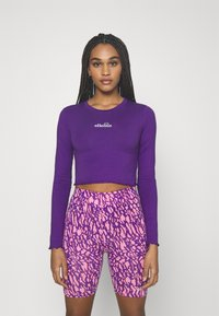 Ellesse - REO - Langærmede T-shirts - purple - 0