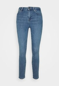 ONLY Petite - ONLPOWER PUSH UP  - Jeans Skinny Fit - blue denim - 3