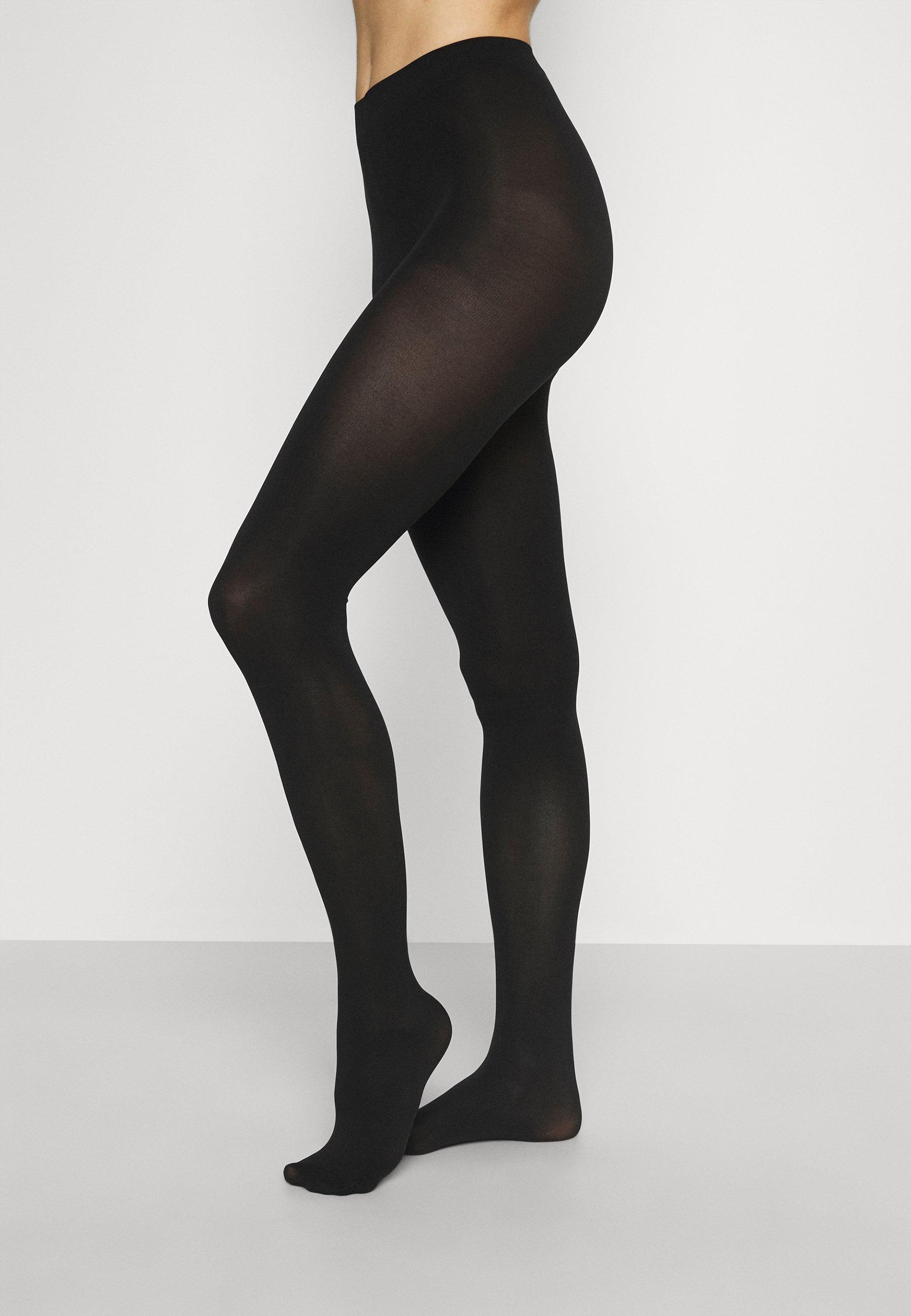 Femme PCNEW NIKOLINE 90 DEN TIGHTS 2 PACK  - Collants