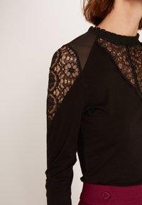 Morgan - TISHIR - Long sleeved top - black - 3