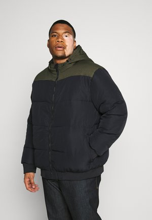 ONSBOSTON BLOCK  HOOD  - Veste d'hiver - dark navy/colourblock