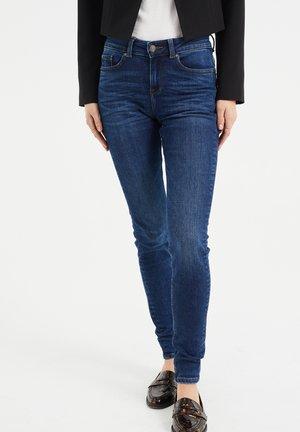 MET SUPER STRETCH - Jeans Skinny - dark blue