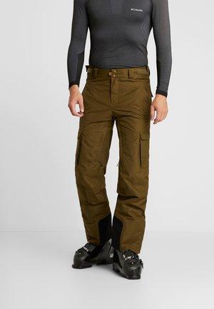 RIDGE RUN PANT - Zimní kalhoty - olive brown