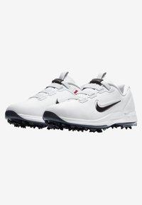 Nike Golf - TIGER WOODS - Golfskor - white/metallic cool grey/pure platinum/black - 2