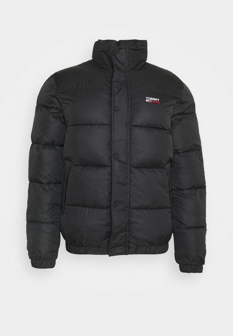 Tommy Jeans - CORP JACKET - Winter jacket - black/black