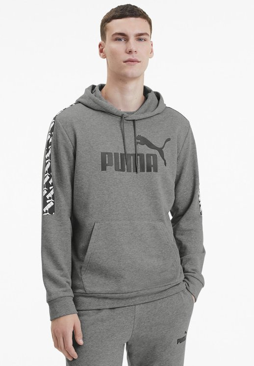Puma - AMPLIFIED  - Hoodie - medium gray heather