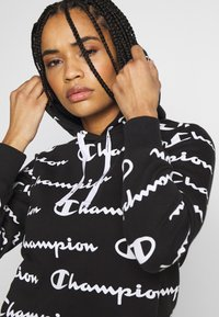 Champion - HOODED - Jersey con capucha - black - 3