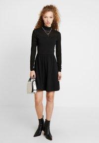 ONLY - ONLNIELLA DRESS - Vestido ligero - black - 2