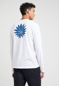 James Perse - CREW NECK - Long sleeved top - white - 2