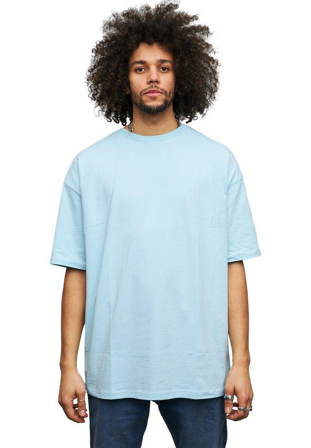 OVERSIZE - T-shirt basic - baby blue