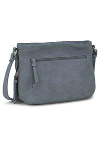 TOM TAILOR - Across body bag - mid blue - 1