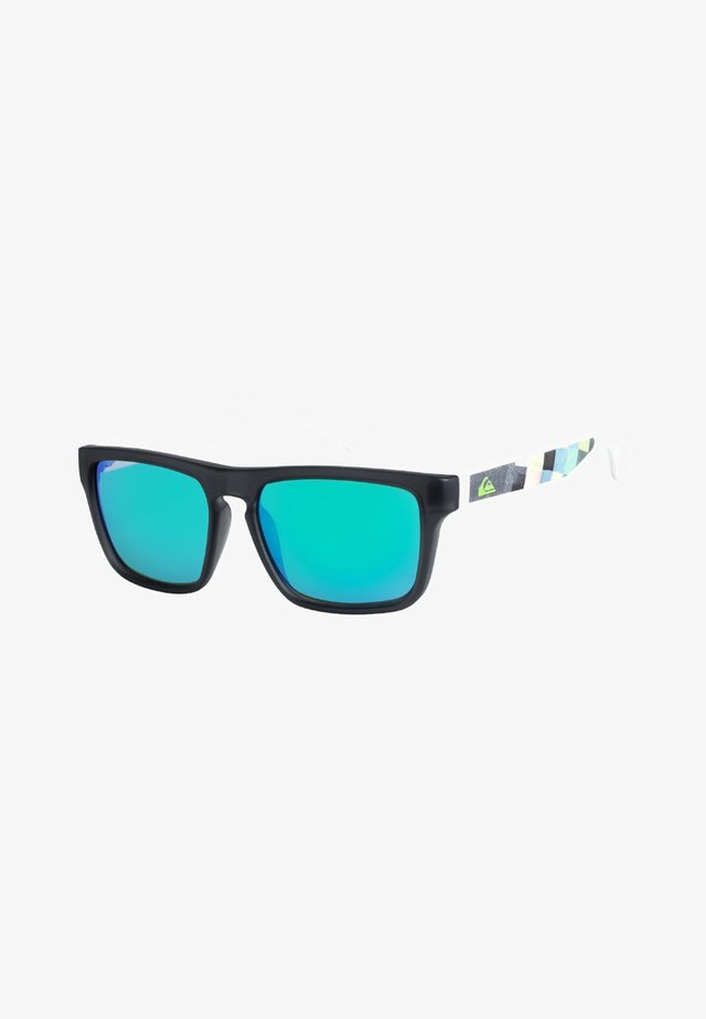 SMALL FRY - Sunglasses - grey-white/green
