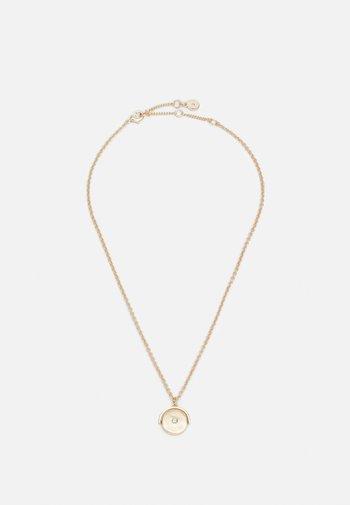 LOGO COIN PENDANT - Necklace - gold-coloured