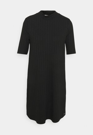 DRESS - Jumper dress - deep black