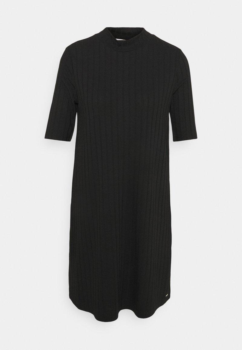 TOM TAILOR DENIM - DRESS - Jumper dress - deep black