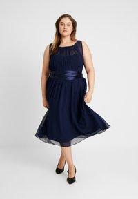 Dorothy Perkins Curve - BETHANY DRESS - Cocktail dress / Party dress - navy - 2