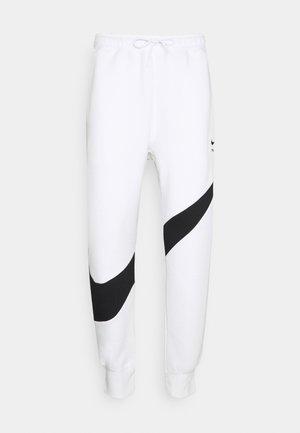 Pantaloni sportivi - white/black
