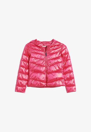PADDED WITH HOOD - Winter jacket - pink