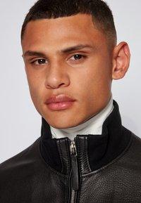 BOSS - NEOVEL - Leather jacket - black - 3