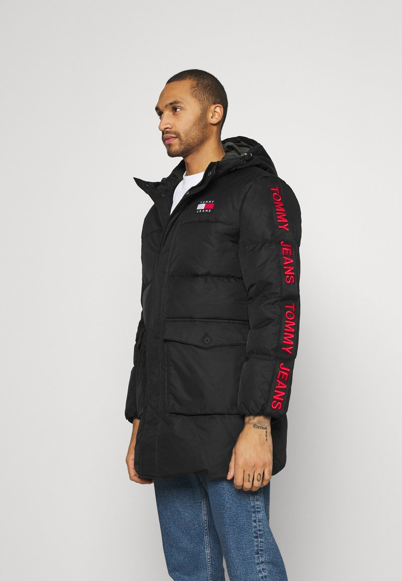 Tommy Jeans - STATEMENT - Down coat - black