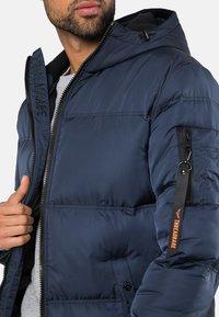 Threadbare - QUADRANT - Winter coat - blau - 3