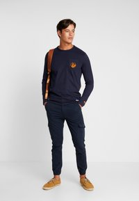TOM TAILOR - LONGSLEEVE - Langarmshirt - sky captain blue - 1