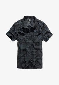 Brandit - ROADSTAR - Shirt - blk/blue - 0