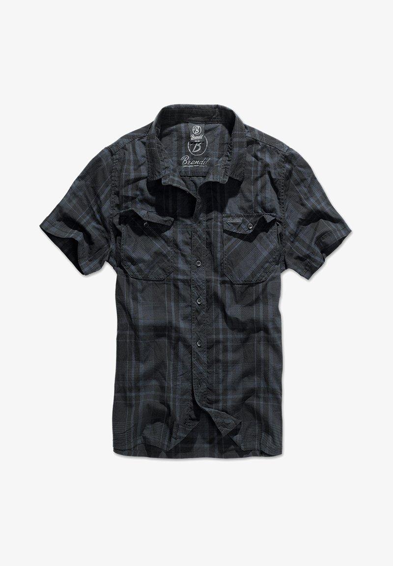 Brandit - ROADSTAR - Shirt - blk/blue