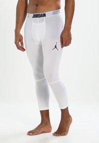 Jordan - 23 ALPHA DRY  - Långkalsonger - white/black - 3