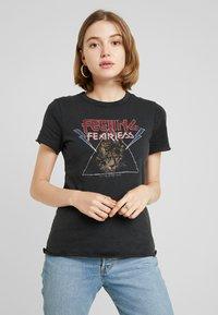 ONLY - ONYZOE BOX  - Print T-shirt - black - 0