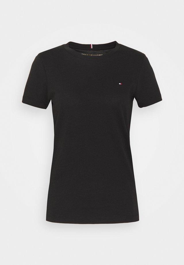 HERITAGE CREW NECK TEE - T-shirt basique - black