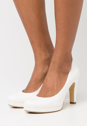 Zapatos altos - white matt