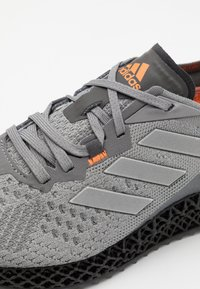 adidas Originals - X90004D UNISEX - Sneakers - grey three/metallic silver/signal orange - 7