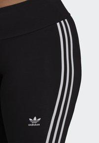 adidas Originals - 3 STRIPES ADICOLOR COMPRESSION - Legging - black - 3