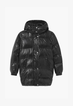 SELFIE - Zimní kabát - black
