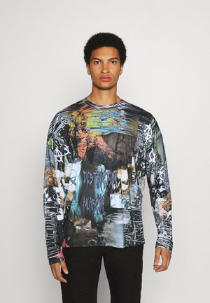 ELECTRIC COLLAGE - Long sleeved top - multi-coloured