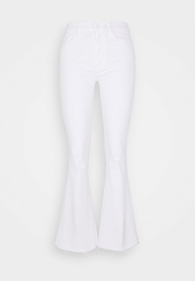 THE WEEKENDER FRAY - Flared Jeans - white