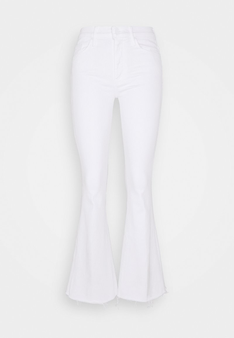 Mother - THE WEEKENDER FRAY - Flared Jeans - white