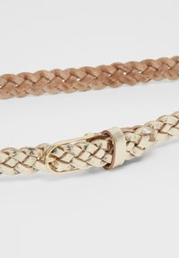 Vanzetti - Braided belt - gold metallic - 2