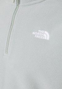 The North Face - MENS GLACIER 1/4 ZIP - Fleece jumper - wrought iron - 2