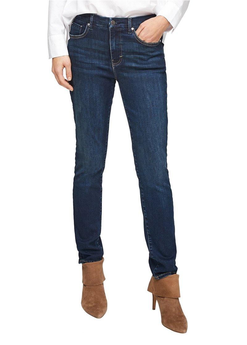 s.Oliver BLACK LABEL - Slim fit jeans - dark blue