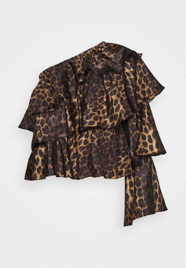 FIGAROCRAS BLOUSE - Pitkähihainen paita - black