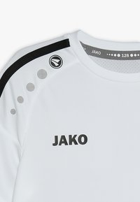 JAKO - TRIKOT STRIKER - Print T-shirt - weiß/schwarz - 3