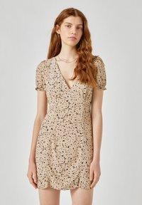 PULL&BEAR - Day dress - beige - 0