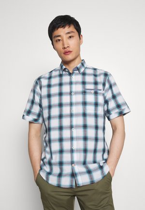 RAY CHECK SHIRT - Overhemd - blue/white