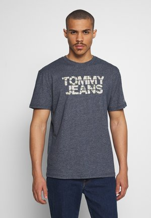 CAMO GROUND LOGO TEE - T-shirts print - twilight navy