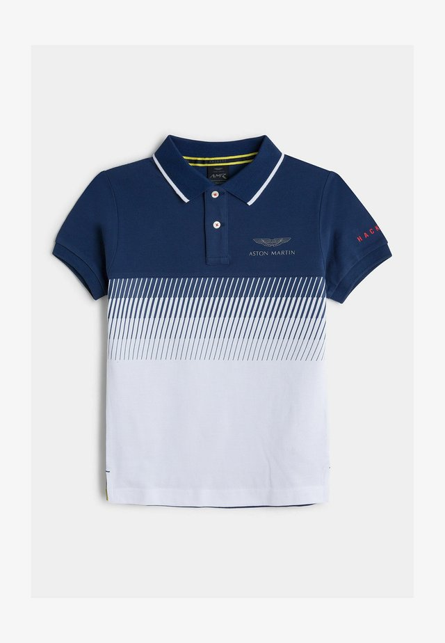 AMR GRADUAL LINES Y - Polo - blue/white