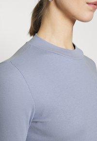 Monki - Long sleeved top - blue light - 5